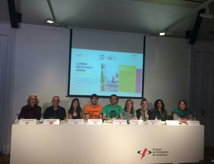 "Arrenca la Iniciativa Ciutadana Europea ""Housing for all"""