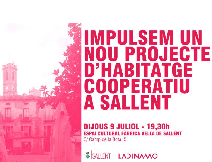 Impulsem l'habitatge cooperatiu a Sallent